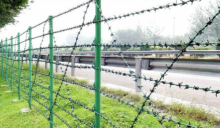 Barbed Wire Fence|Anping County Xinqinye Wire Mesh Fence Factory